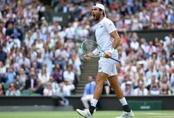 Kết quả tennis Wimbledon mới nhất: Berrettini lật nổi Djokovic?