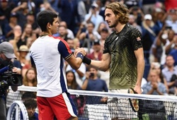 """Kết quả tennis US Open mới nhất hôm nay 4/9:""""Thần Hy Lạp"""" Tsitsipas thua đàn em Nadal"""