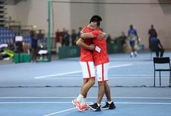 HLV Trương Quang Vũ tiết lộ gì khi tennis Việt Nam trở lại nhóm II Davis Cup 2022?