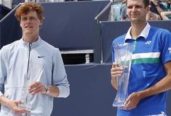 Lịch sử gọi tên Hurkacz, Sinner vẫn xứng đáng là Thế hệ mới của Tennis thế giới