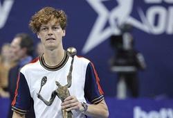 Kết quả tennis mới nhất 25/10: Sinner lập kỳ tích chỉ có Djokovic sánh bằng