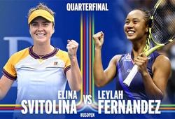 Kết quả tennis US Open mới nhất hôm nay 6/9: Người đẹp Svitolina vs tiểu mỹ nhân Fernandez