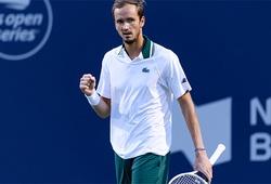 Kết quả tennis mới nhất: Sốc với chung kết Medvedev vs Opelka