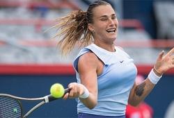 Kết quả tennis mới nhất: Montreal chung kết sớm Sabalenka vs Pliskova