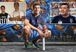 ATP Finals 2020: Diego Schwartzman mê Maradona, nhưng định mệnh phải thành sao tennis!