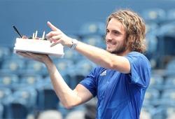 Kết quả tennis mới nhất: Tsitsipas có quà sinh nhật