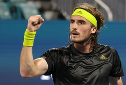"""Kết quả tennis mới nhất: """"Thần Hy Lạp"""" vượt qua vòng 2 sóng gió"""