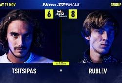Tsitsipas vs Rublev: Đừng nghĩ thành Nalbandian thứ 2 ở ATP Finals!