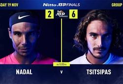 Dự đoán ATP Finals: Nadal phế đế Tsitsipas