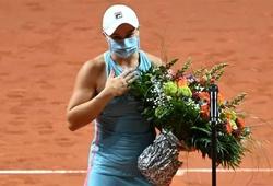 Kết quả tennis mới nhất:Số 1 thế giới nữ mừng sinh nhật, số 1 thế giới nam ngã sấp mặt