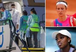 3 sao tennis mang họa do đi cùng chuyến bay dự Australian Open có người nhiễm COVID-19