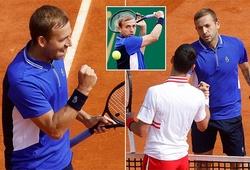 Kết quả tennis Monte-Carlo Rolex Masters ngày 15/4: Số 1 Anh Dan Evans bất ngờ loại số 1 thế giới Djokovic!