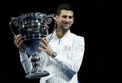 """Novak Djokovic xô ngã kỷ lục """"người cao tuổi nhất"""" giữ vị trí số 1 thế giới tennis vào cuối năm của Rafael Nadal"""