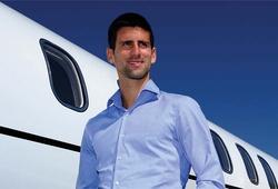 Soi xem máy bay riêng của sao tennis Djokovic có gì lạ