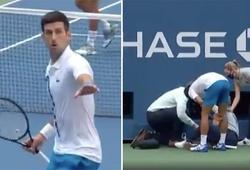 """Djokovic bị loại khỏi US Open 2020 do thiếu kiềm chế: """"Lời tiên tri"""" sau 4 năm hóa thành sự thật"""