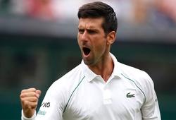 """Kết quả tennis Wimbledon mới nhất: Đụng phải Djokovic là mặc định """"chết""""!"""