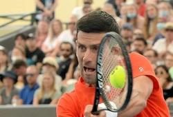 Djokovic bị đau tay trước thềm giải tennis Australian Open