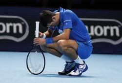 ATP Finals như một trò đùa: Hết Nadal, đến lượt Djokovic sụp đổ