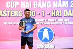 Sao tennis số 1 VN Lý Hoàng Nam đón Tết như thế nào?