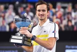 Medvedev lập kỳ tích trên BXH tennis mới nhất, vô tình cho thấy những tay vợt cùng thời với Big-4 là điều bất hạnh tới mức nào?
