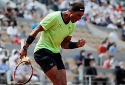 """Kết quả tennis Roland Garros mới nhất:Nadal hủy diệt """"chú lùn"""", """"nữ hoàng"""" cùng """"thần đồng"""" chiến bại!"""
