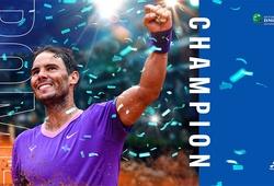 Kết quả tennis chung kết Rome Open mới nhất:Nadal bước qua Djokovic để lập kỷ lục, Swiatek quá mạnh đối với cựu số 1 Pliskova