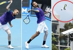 """Sao tennis Nick Kyrgios tự thua theo đúng phong cách """"siêu quậy""""!"""