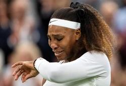 Giải tennis Wimbledon 2021: Đã rõ lý do Serena Williams bỏ cuộc và bật khóc!