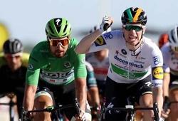 Kết quả chặng 10 cuộc đua xe đạp Tour de France:  Sam Bennett thắng đúng 10cm!