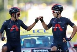 Kết quả chặng 18 cuộc đua xe đạp Tour de France: Kwiatkowski cùng Carapaz khoác vai nhau về đích