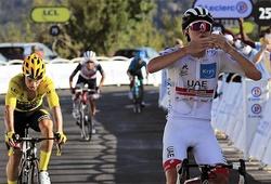 Kết quả chặng 15 cuộc đua xe đạp Tour de France:  Pogacar thắng chặng, Bernal khó bảo vệ áo vàng chung cuộc