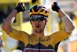 Kết quả vòng 4 đua xe đạp Tour de France: Roglic bứt tốc đúng lúc