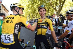 Kết quả vòng 7 đua xe đạp Tour de France: Wout van Aert thắng trong gang tấc