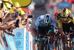 Kết quả chặng 11 cuộc đua xe đạp Tour de France: Sagan bị phạt do chơi xấu ngay đích đến