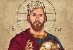 """Messi và những lần được ca tụng là """"Messiah"""" của bóng đá thế giới"""