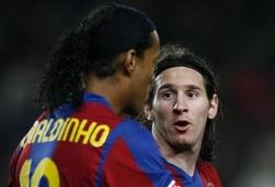 Barca bán Ronaldinho vì sợ làm Messi sa ngã