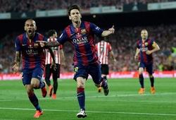 Tròn 5 năm Messi độc diễn từ giữa sân để ghi bàn cho Barca