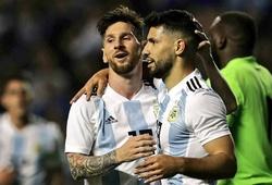 Đội hình tuyển Argentina 2020: Song sát Messi và Aguero