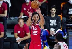 Ben Simmons dính chấn thương đầu gối, HLV Philadelphia 76ers buồn rầu