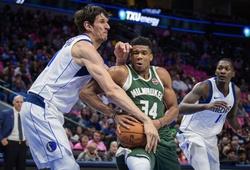 Nhận định NBA: Milwaukee Bucks vs Dallas Mavericks (ngày 09/08, 7h30)