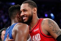 Sau tất cả, Carmelo Anthony hạnh phúc vì đã được coi là một người hùng