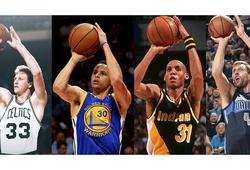 Top 4 xạ thủ 3 điểm vĩ đại đã định hình cả NBA trong 4 thập kỷ qua