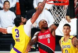 Giận dữ sau Game 1, Los Angeles Lakers thắng đậm Portland Trail Blazers tại Game 2