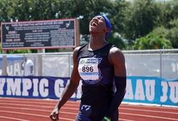 """Chàng trai Mỹ 16 tuổi phá kỷ lục quốc gia chạy 200m, gần """"chạm gót"""" Tia chớp Usain Bolt"""