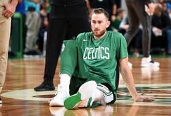 Boston Celtics nhận tin không vui về Gordon Hayward và chấn thương mắt cá
