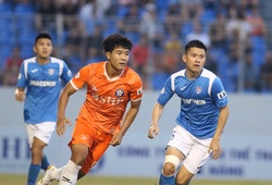 Than Quảng Ninh chấm dứt chuỗi trận bất bại của SHB Đà Nẵng