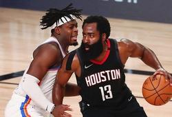 """James Harden phòng thủ """"clutch"""", Houston Rockets thắng nghẹt thở OKC Thunder"""