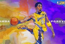 Kobe Bryant xuất hiện trên 2 bìa game NBA 2K21: Di sản bất tử của Black Mamba