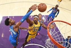 Nhận định NBA: Oklahoma City Thunder vs Los Angeles Lakers (ngày 06/08, 5h30)