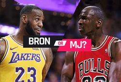 """""""LeBron là cầu thủ toàn diện, nhưng Michael Jordan mới là vĩ đại nhất"""""""